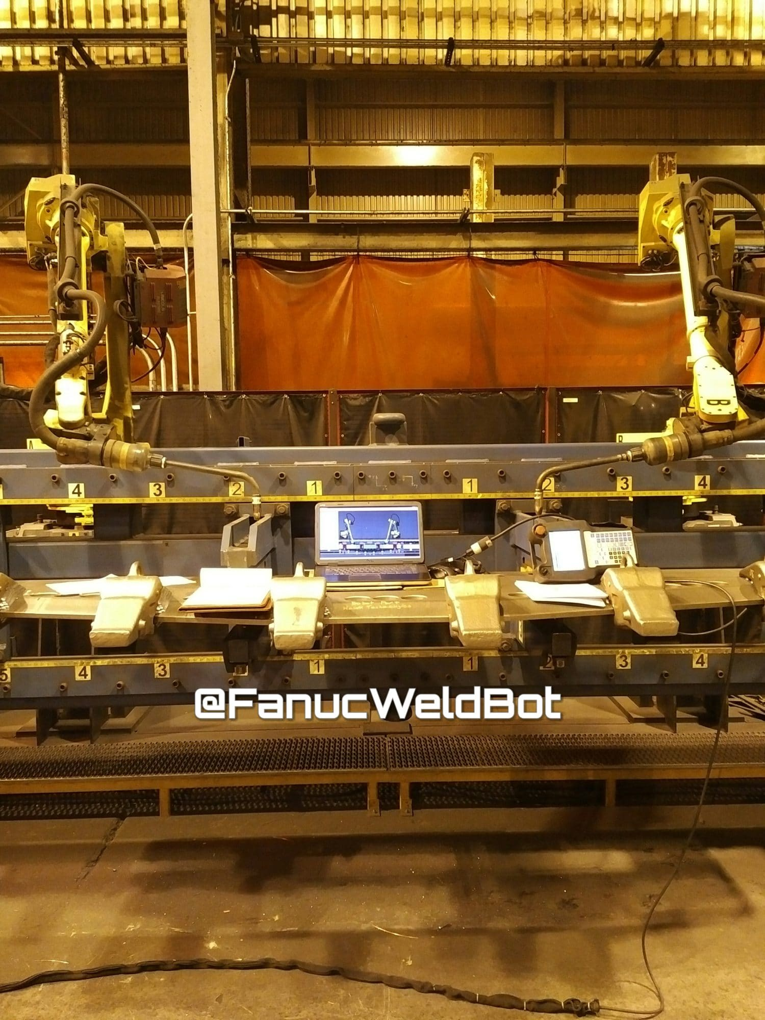fanuc dual arm weldpro roboguide