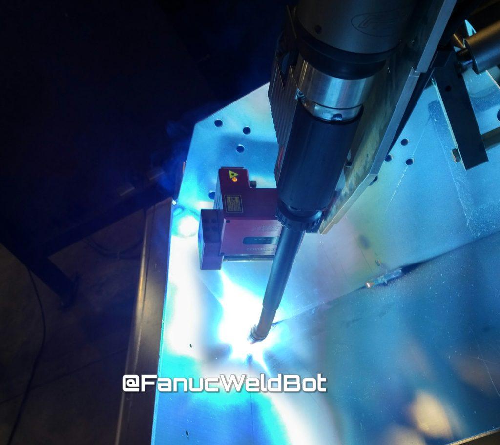 servo robot laser position finding icube